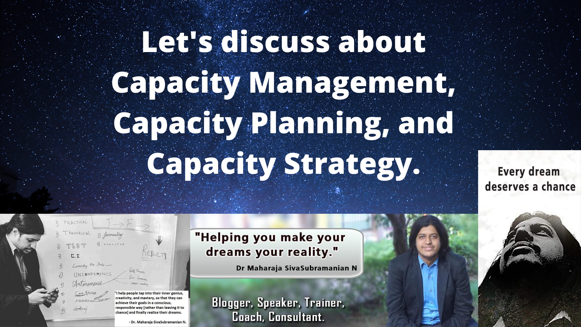 Let's discuss about Capacity Management, Capacity Planning, and Capacity Strategy.