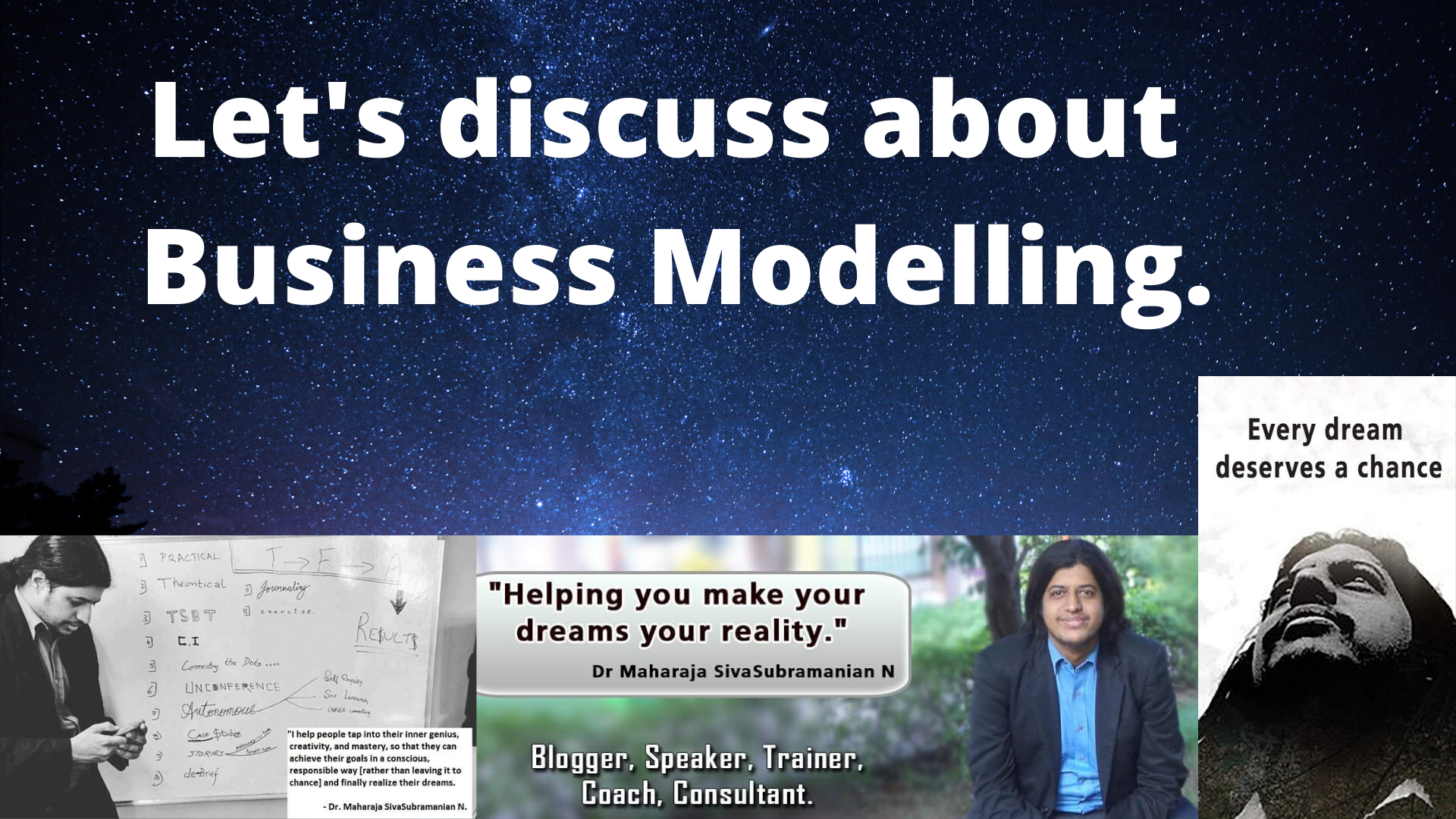 Let's discuss about Business Modelling.
